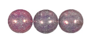 Decora Druk Smooth Round Beads #4151 6MM Violet Blush (1,200 Pieces)