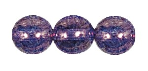 Decora Druk Smooth Round Beads #4151 8MM Violet (600 Pieces)