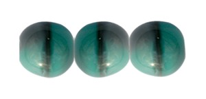Ombre Druk Smooth Round Beads #4158 8MM Minty Smoke (600 Pieces)