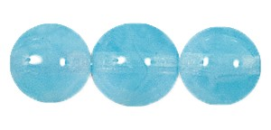 Druk Smooth Round Beads #4150 12MM Aqua Opal (300 Pieces)
