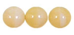 Druk Smooth Round Beads #4150 12MM Beige Opal (300 Pieces)