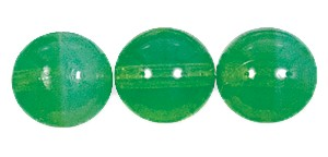 Druk Smooth Round Beads #4150 14MM Green Opal (300 Pieces)