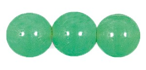 Druk Smooth Round Beads #4150 8MM Lime Opal (600 Pieces)