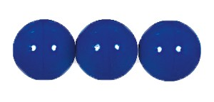 Druk Smooth Round Beads #4150 12MM Opaque Royal Blue (300 Pieces)