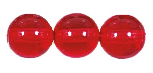 Druk Smooth Round Beads #4150 6MM Deep Padparadscha (1,200 Pieces)