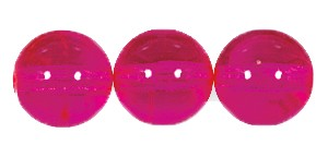 Druk Smooth Round Beads #4150 4MM Hot Pink (1,200 Pieces)