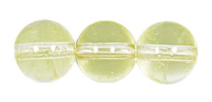Druk Smooth Round Beads #4150 10MM Jonquil (300 Pieces)