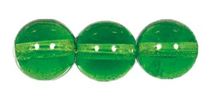 Druk Smooth Round Beads #4150 6MM Peridot (1,200 Pieces)