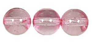 Druk Smooth Round Beads #4150 8MM True Pink (600 Pieces)