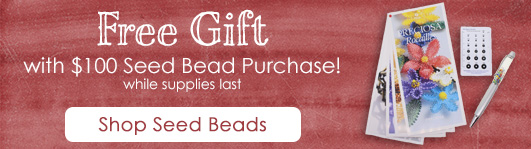 Seed Bead Lovers Gift