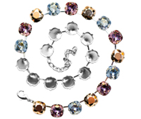 #7806 Necklace Setting for 4470 12mm Stones