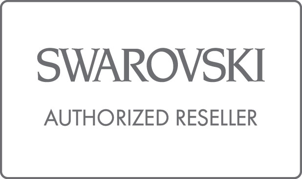 Swarovski's Logo that reads Swarovski Authorized Reseller
