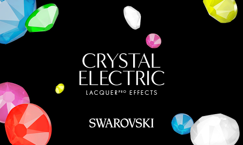 New Neon Rhinestones by Swarovski: New Crystal Electric LacquerPRO