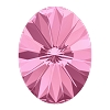Swarovski 4122 Oval Rivoli Fancy Stone 18x13.5mm Rose (48 Pieces)