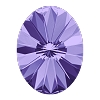 Swarovski 4122 Oval Rivoli Fancy Stone 18x13.5mm Tanzanite (48 Pieces)