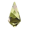 Swarovski 4731 Kite Fancy Stone 14x7mm Crystal Luminous Green (96 Pieces)