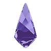 Swarovski 4731 Kite Fancy Stone 14x7mm Tanzanite (96 Pieces)
