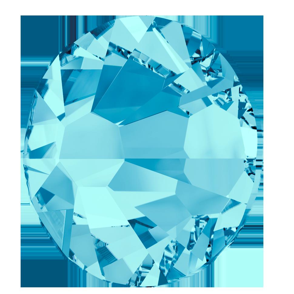 SWAROVSKI Crystal Flatbacks 2000 SS3 All colours Hot Fix