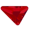Swarovski 2739 Triangle Beta Flatback Rhinestones 7x6.5mm Light Siam