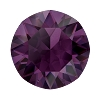 Swarovski 1088 Xirius Pointed Back Chaton SS39 Amethyst Ignite