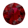 Swarovski 1088 Xirius Pointed Back Chaton SS39 Scarlet Ignite