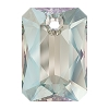 Swarovski 6435 Emerald Cut Pendant 11.5mm Crystal Shimmer