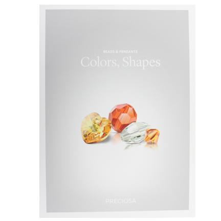 Preciosa Crystal Bead and Pendant Color Card | HarMan Importing
