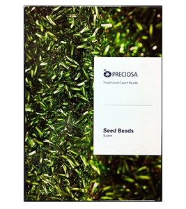 Preciosa Ornela Bugle Bead Color Card