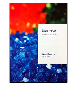 Preciosa Ornela Two-Cut and Three-Cut Bead Color Card