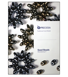 Preciosa Ornela Twin Bead Color Card