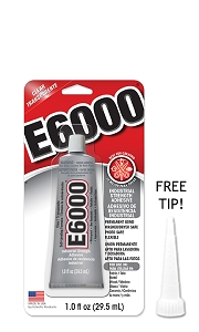 E-6000 Glue 1oz Small Tube