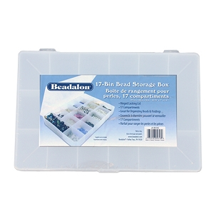 17-Bin Bead or Rhinestone Storage Box