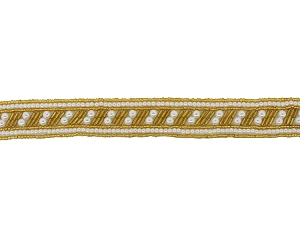 Beaded & Pearl Trim Banding #9034 1