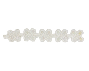 Beaded & Sequin Trim Banding #S8918 1 1/2