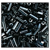 Bugle Bead #2400 20mm 49102 Gunmetal Metallic (1/2 Kilo) - CLEARANCE
