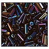 Bugle Bead #2400 20mm 59195 Purple Iris Metallic (1/2 Kilo) - CLEARANCE