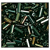 Bugle Bead #2400 30mm 59155 Green Iris Metallic (1/2 Kilo) - CLEARANCE