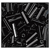 Bugle Bead #2400 20mm 23980 Black Opaque (1/2 Kilo)