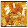 Bugle Bead #2400 20mm 15041 Topaz Satin (1/2 Kilo) - CLEARANCE
