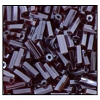 Bugle Bead #2400 #2 96120 Burnt Red Transparent Luster (1/2 Kilo) (LOOSE) - CLEARANCE