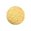 European Glass Buttons #1852 Gold 18mm (24 Pieces) - CLEARANCE
