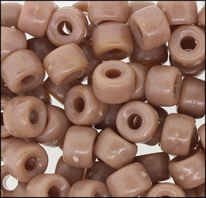 Plastic Pony Beads #610 9mm Tan Opaque (1,000 Pieces) - CLEARANCE
