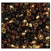 Rocailles S/L and 2-Cut Bead 29634 Topaz Mix (1/2 Kilo) - CLEARANCE