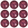 Swarovski 2028 Hot Fix Flatback Rhinestones SS20 Burgundy (144 Pieces) - CLEARANCE