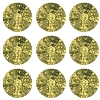 Swarovski 2028 Hot Fix Flatback Rhinestones SS20 Marbled Yellow (144 Pieces) - CLEARANCE