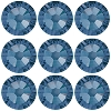 Swarovski 2028 Hot Fix Flatback Rhinestones SS34 Montana (36 Pieces) - CLEARANCE