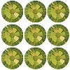 Swarovski 2028 Hot Fix Flatback Rhinestones SS30 Olivine (60 Pieces) - CLEARANCE