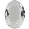 Vintage Swarovski 4120 Oval Fancy Stone 25x18mm Crystal Unfoiled (24 Pieces) - CLEARANCE