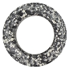 Swarovski 4139B Round Cosmic Ring Fancy Stone 30mm Marbled Black (2 Pieces) - CLEARANCE