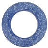 Swarovski 4139B Round Cosmic Ring Fancy Stone 30mm Marbled Blue (2 Pieces) - CLEARANCE
